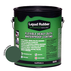 Liquid Rubber Waterproof Sealant Hunter Green