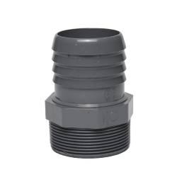 Dura PVC Male Adapter Insert Fittings (MIPT x Insert)