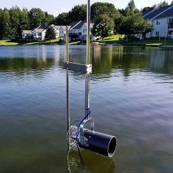 Scott Aerator Aquasweep Free-Standing Post