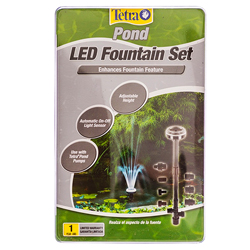 Tetra LED Fountain Set w/Remote