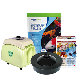 All Fall & Winter Pond Supplies
