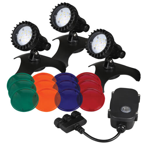 Pondmaster LED Light Set with Transformer