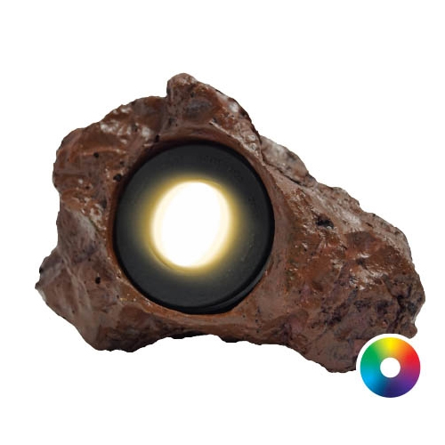 Anjon Manufacturing Color-Changing LED Rock Light