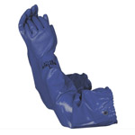PVC Blue Pond Glove