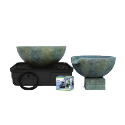 Aquascape Spillway Bowl and Basin Landscape Fountain Kit