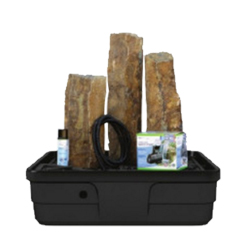 Aquascape Mongolian Basalt Columns Set of 3 Landscape Fountain Kit