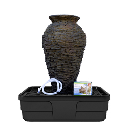 Aquascape Stacked Slate Urn Fountain Kits