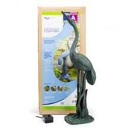 Aquascape Standing Crane Fountain w/pump