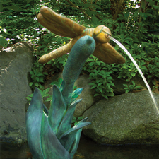 Aquascape Dragonfly Spitter with Pump