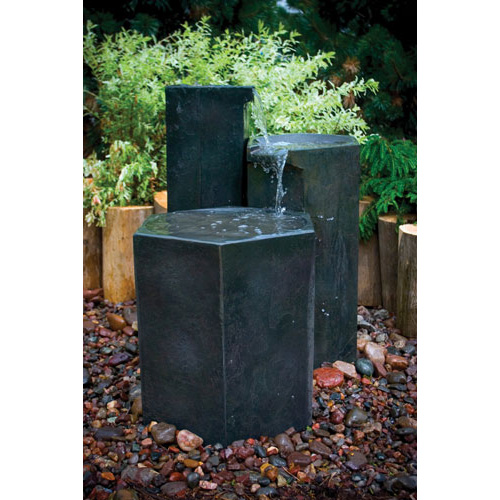 Aquascape Formal Basalt Column Set Fountain