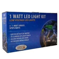 Anjon Manufacturing Ignite Led Lighting Brass Fixtures Kit