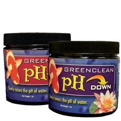 Biosafe GreenClean PH Up & PH Down