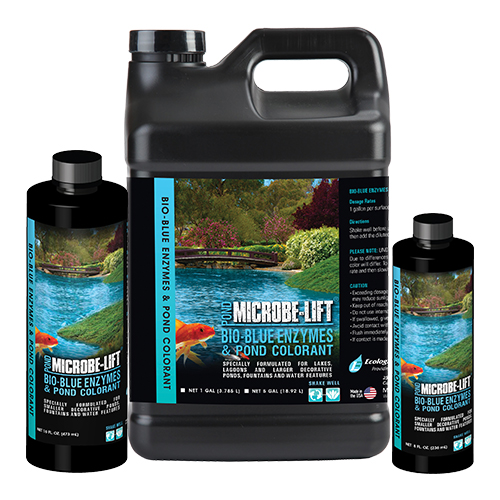 Microbe-Lift Bio-Blue Enzymes & Pond Colorant