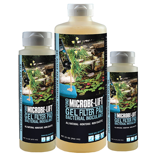 Microbe-Lift PL GEL (Filter Pad Inoculant)