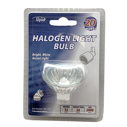 Alpine 20 Watt Halogen Replacement Bulb