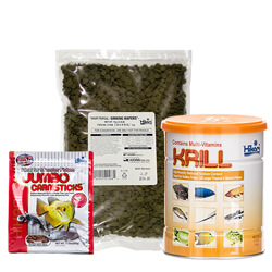 Tropical Fish Food and Algae Wafers