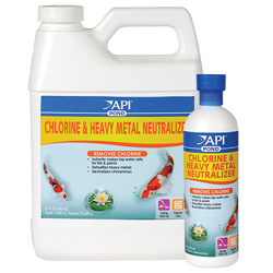 API Pond Chlorine & Heavy Metal Neutralizer