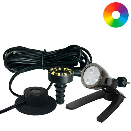 Aquascape LED Color Changing Lights