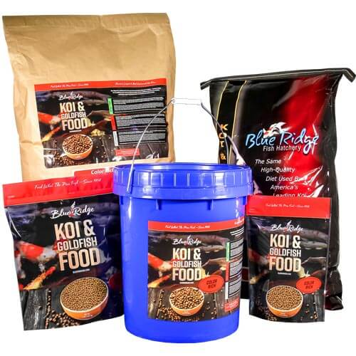 Blue Ridge Color Rich Pellet Fish Food