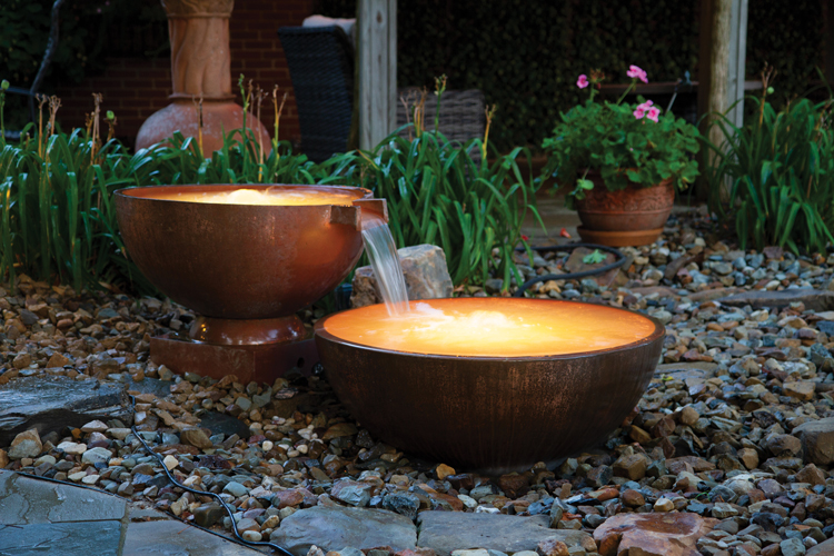 Atlantic Copper Spillway Bowls