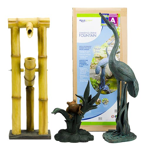 Aquascape Spitters & Fountains with Pump