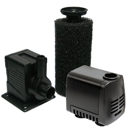 Beckett Wet Rotor Water Garden and Fountain Pump