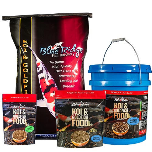 Blue Ridge Growth Fish Food