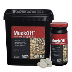 CrystalClear MuckOff Muck and Sludge Reducer