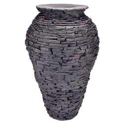 Aquascape Stacked Slate Urn Fountain