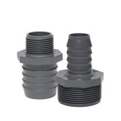 Dura PVC Insert Fittings Reducing Male Adapter