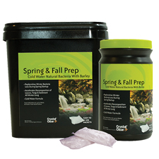 CrystalClear Spring & Fall Prep - Cold Water Natural Bacteria with Barley