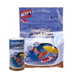 Tetra Spring & Fall Diet Wheat Germ Fish Food - Floating