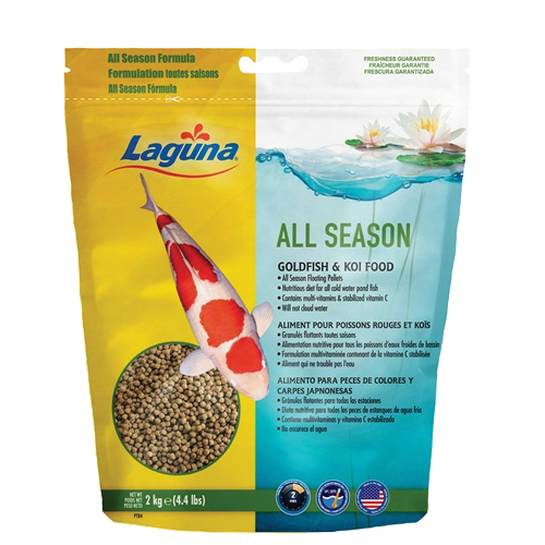Laguna All Season Goldfish / Koi Floating Food 4.4 lbs (MPN PT84)