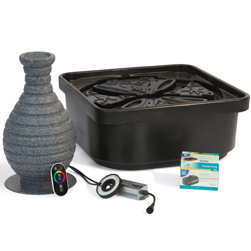 Atlantic Color Changing Vase Fountain Kit Mpn Fkccv18 Best Prices On Everything For Ponds