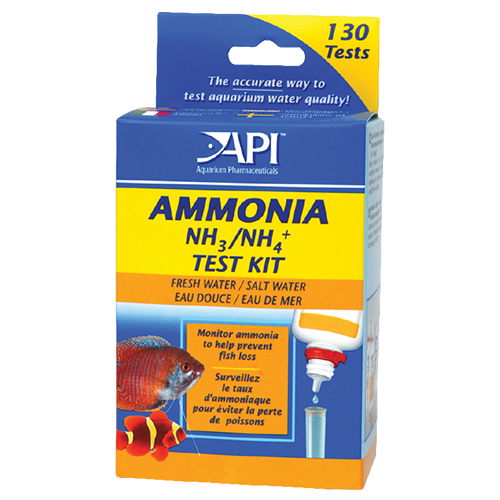 API Pond Ammonia Test Kit 130 Tests (MPN LR8600)