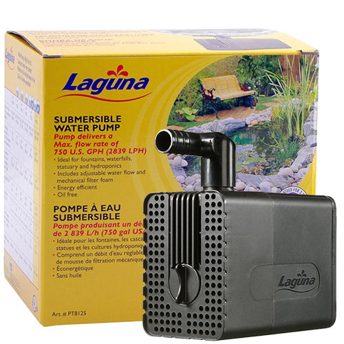 Laguna Submersible Fountain and Statuary Pump 750 GPH (MPN PT8125)