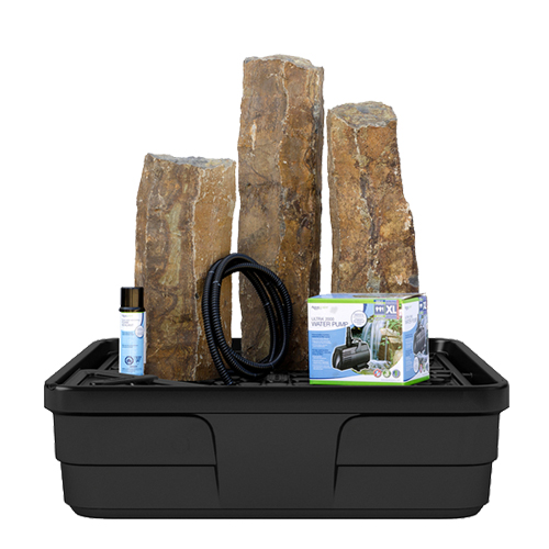 Aquascape Mongolian Basalt Columns Set of 3 Landscape Fountain Kit (MPN 58089)