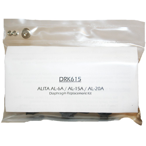 Alita Diaphragm Kit for AL-6A/15A (MPN DRK15)