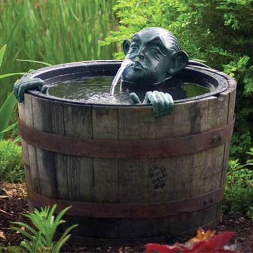 Aquascape Man in Barrel Fountain w/pump (MPN 78016)