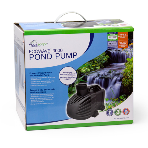 Aquascape EcoWave 3000 Pond Pump (MPN 91132)