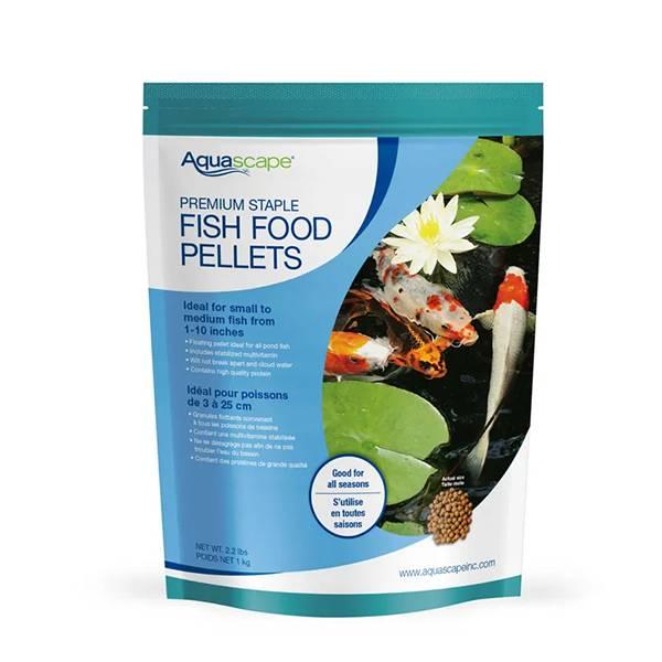 Aquascape Premium Staple Fish Food Medium Pellet 2 2 Lb Mpn 98868 Best Prices On Everything