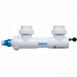 "Aqua Ultraviolet 8 watt UV, 2"" ports, white, wiper (MPN A00005)"