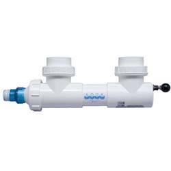 "Aqua Ultraviolet 15 watt UV, 2"" ports, white, wiper (MPN A00013)"