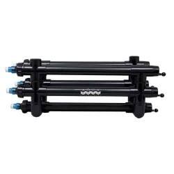"""Aqua Ultraviolet 200 watt UV, 2"""" ports, black, wiper (MPN A00204)"""