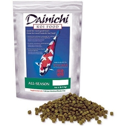 Dainichi All Season Koi Food, Large Pellet 11 lbs