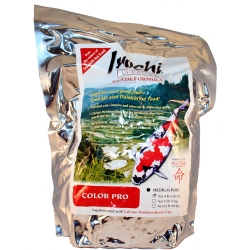 Dainichi Inochi Color PRO Koi Food, Medium Pellet 4 lbs