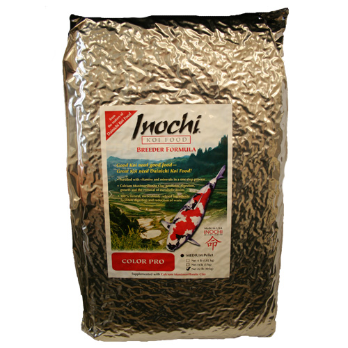Dainichi Inochi Color PRO Koi Food, Medium Pellet 22 lbs