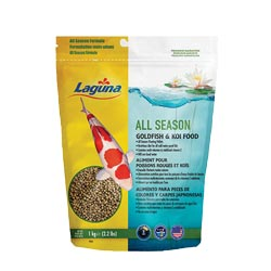 Laguna All Season Goldfish / Koi Floating Food 2.2 lbs (MPN PT75)