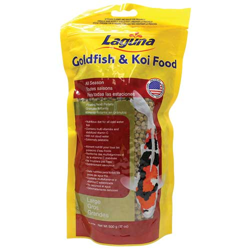 Laguna All Season Goldfish & Koi Food Large Pellet 17 oz (MPN PT80)