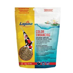 Laguna Color Enhancing Goldfish/Koi Floating Food 2.2 lb. (MPN PT126)